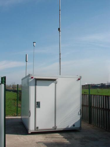 Air Pollution and air quality measurement station